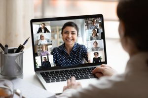 Outsourced HR recruitment video call