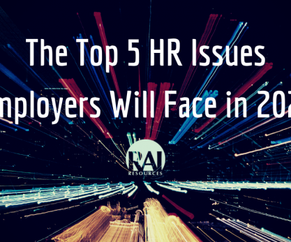 Top 5 HR Issues Employers Will Face in 2020 Image